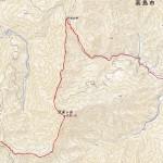 高島トレイル(木地山峠~おにゅう峠 2015.06.14)