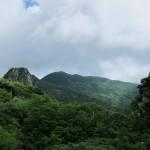 男岩付近より山頂