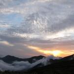 寒江山の落日2