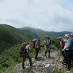 清太岩山にて