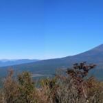 富士山と南ア
