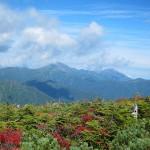 中ノ岳と越後駒
