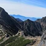 三叉峰登りより赤岳・阿弥陀岳
