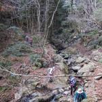 唐滝付近の下降2