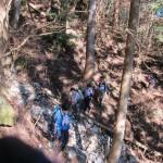 旧道登山道2